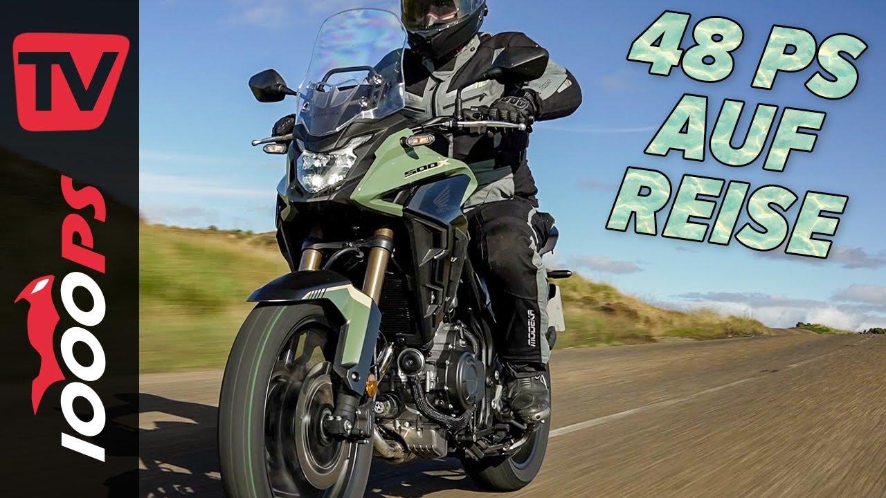 Honda CB500X 2022 Test auf der North Coast 500