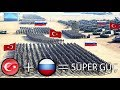 Türkiye ve Rusya TEK DEVLET Olsaydı?
