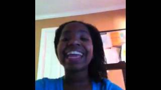 me singing oh happy day