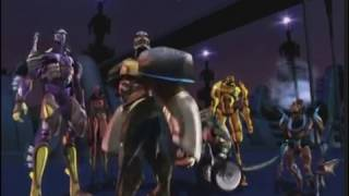 "Opening titles from ""Super Lifeform Transformers: Beast Wars Return..."