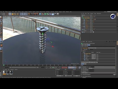 A Short Introduction to Cinema 4D Volumes - Lesterbanks