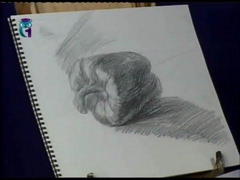 Как нарисовать перец карандашом поэтапно