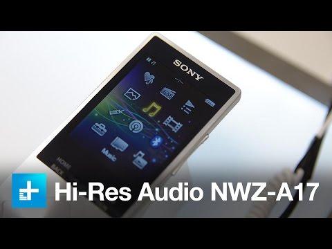 Sony Walkman NWZ-A17 - Hands On