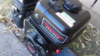 Predator 6.5hp 212cc Engine First Start With Lucas ZDDP
