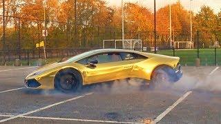 Donuts Draaien Met Een Lamborghini HuracÁn🏆
