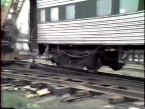 DeQuincy Railroad Museum 1947 pullman car moving day part 2