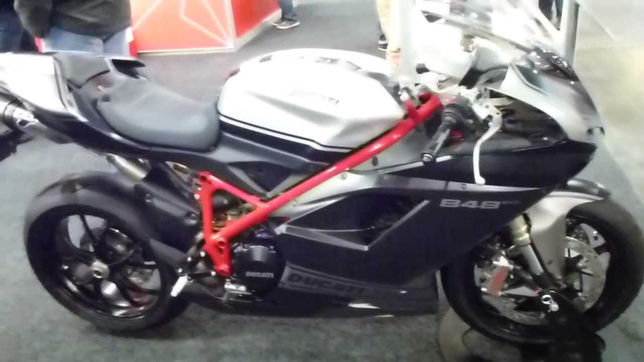 2013 ducati 848 evo corse special edition ''termignoni'' exhaust
