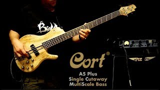 Cort A5 Plus Single Cutaway MultiScale bass (SCMS) - video review