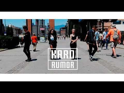"[DANCING KPOP IN PUBLIC BARCELONA] ""Rumor"" - K.A.R.D [Dance Cover by TheBOX]"