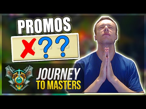 PROMOS TIME...   Journey To Masters #26 - League of Legends