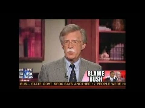 Osama Bin Laden Killed By Bush & Cheney According to John Bolton