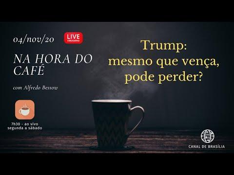 Na hora do café - Medo de fraude transforma eleições americanas