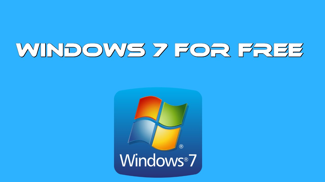 How to install & download Windows 7 for free - YouTube