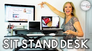 Sit or Stand Desk Top  | Tech Orbits Review | Standing Workstation