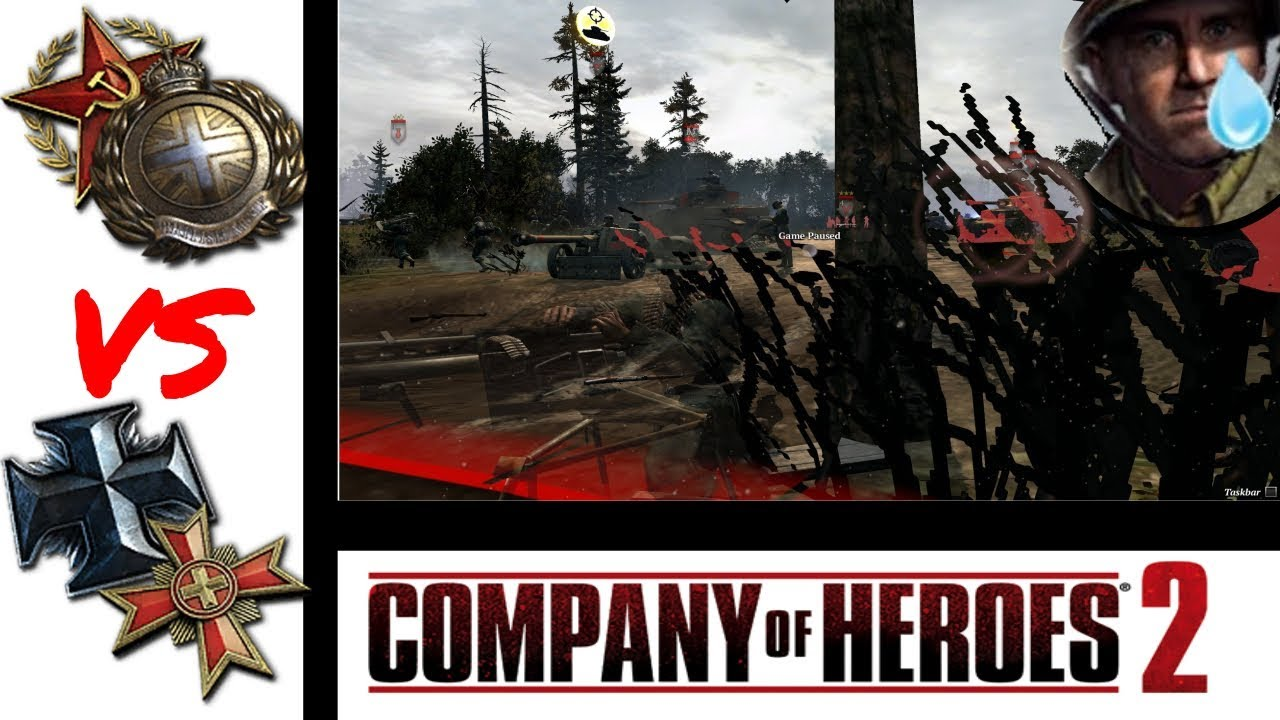 Tricky Germans Company Of Heroes 2 Cast 280 Youtube