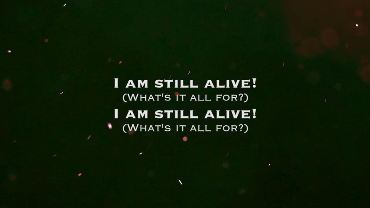 Red Still Alive Lyrics Youtube