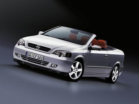 2002 Opel Astra Cabriolet Youtube