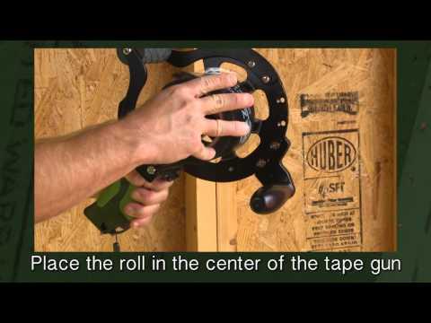 Load The Zip System Tape Gun