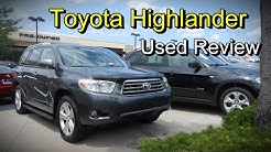 2008 - 2013 Toyota Highlander Limited: Used Review
