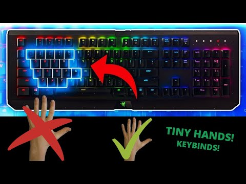Best Keybinds For People With Small Hands! (Fortnite And Strucid)