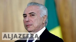 Brazil's President Temer charged with corruption
