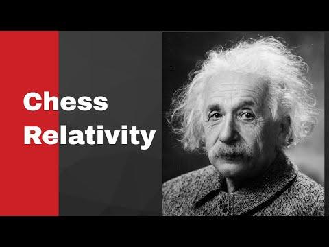 Albert Einstein chess game: Albert Einstein vs Robert Oppenheimer