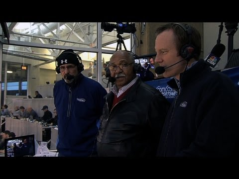 Williams interviewed in booth