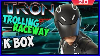 Disney Infinity 3: TOY BOX ADVENTURES! Tron's Trolling Raceway - Kwingsletsplays