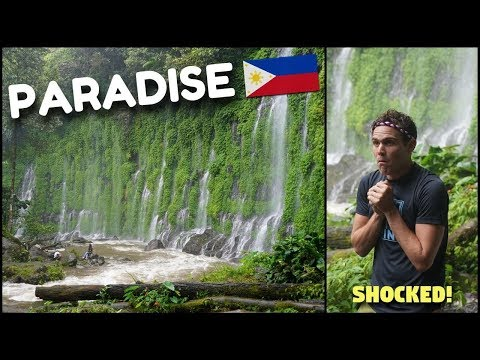 PHILIPPINES MYSTERIOUS WATERFALL PARADISE? (Green Garden Of Eden)
