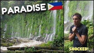 PHILIPPINES MYSTERIOUS WATERFALL PARADISE? (Green Garden Of Eden)