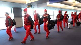 Сборная России прибыла в Корею на Олимпийские игры