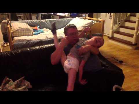 NBIA PKAN child having spasms video 2 - Nov 25