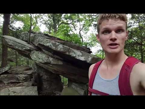 Rainbow Mountain - Madison Alabama (backflip? In Huaraches?)