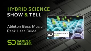 Sample Diggers Hybrid Science Sample Pack Overview - With Danny Modular