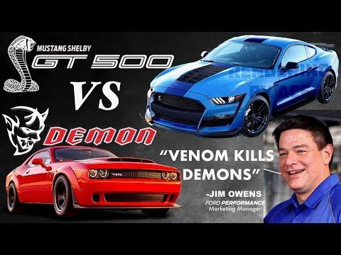 2019 Shelby GT500: VENOM KILLS DEMONS! (Ford Challenges Dodge Demon)