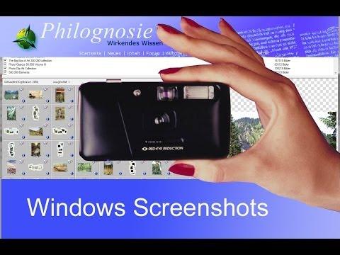 Screenshots mit allen Windows-Versionen erstellen