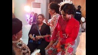Faithia Balogun, Iyabo Ojo Dances As Others Spray Money On Mercy Aigbe At Her 40th Birthday Party