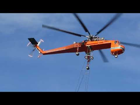Contractor Uses Air Crane to Deliver Broadband Network to Remote Alaska Villages