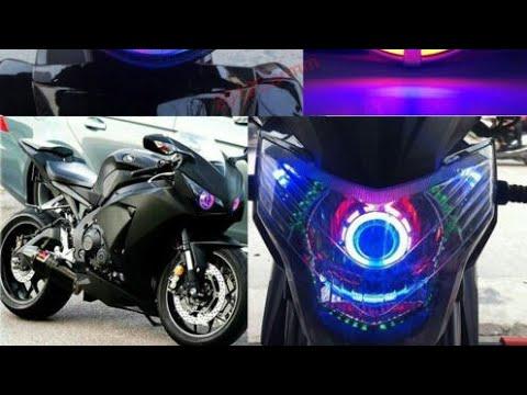 Tipos de luces led para motos