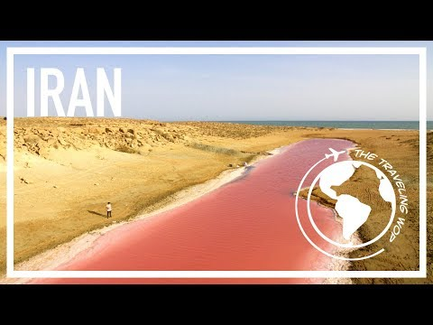 Extraterrestrial landscapes in Iran - A Wop in Iran 5/5 - The Traveling Wop