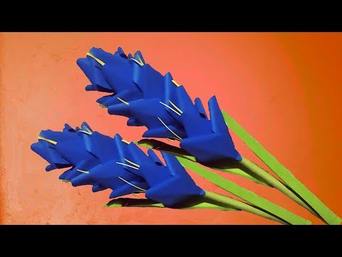 Diy | How to Make Beautiful Paper Stick Flower