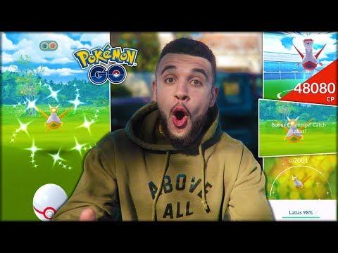 MY BEST REACTION TO A NEW SHINY! (Pokémon GO) thumbnail