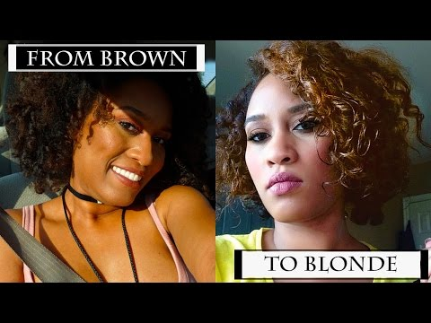 I'm Going Blonde | Shea Moisure Hair Care Color System