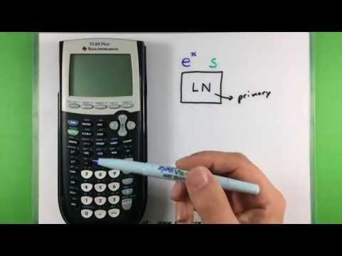 Basic Math - Using a Ti-83 or Ti-84 Calculator