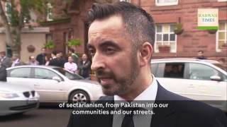 Channel4: Funeral of Asad Shah, the Ahmadiyya Muslim shopkeeper stabbed to death