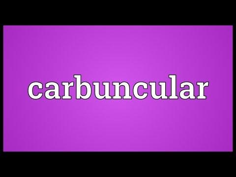 Header of carbuncular