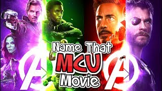 Name That MCU Movie! - Road To Infinity War!!! - CAN YOU GUESS THEM!?!