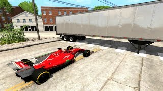 Low Clearance Crashes - BeamNG drive