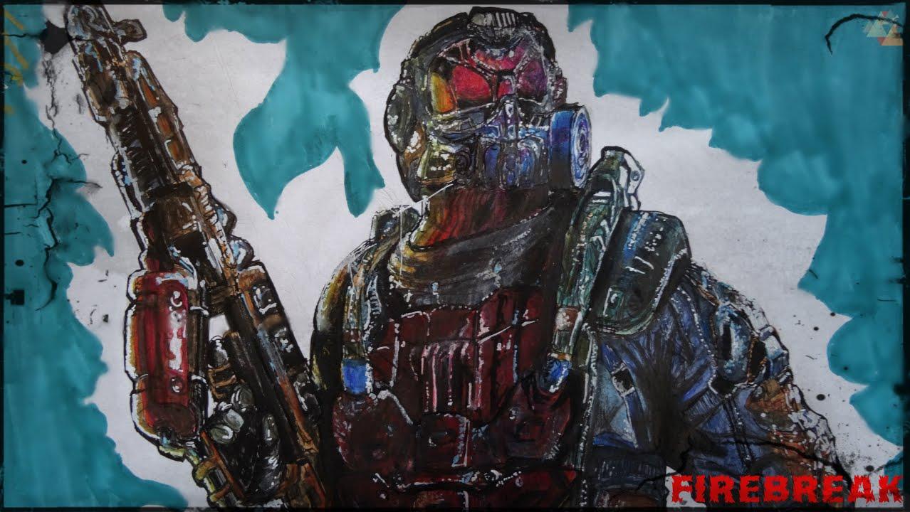 Speed Drawing Call Of Duty Black Ops Iii 2 Krystof Hejek