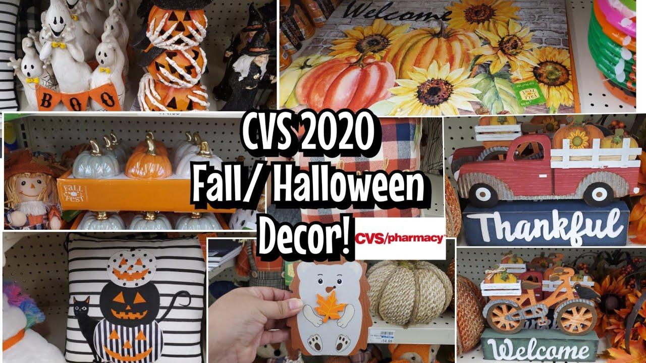 Cvs Halloween Decorations 2020 CVS 2020 FALL / HALLOWEEN HOME DECOR WALKTHROUGH   YouTube